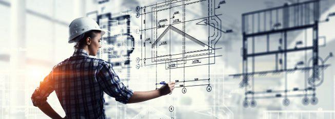 מהנדסת משרטטת מבנה