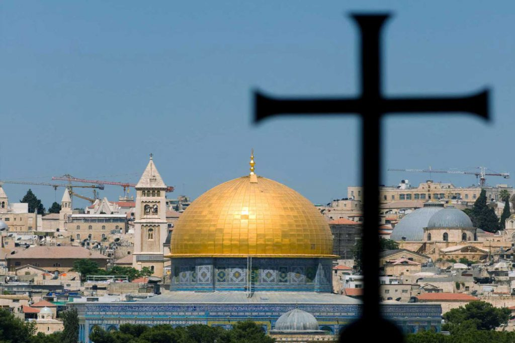 The Golden Dome of Jerusalem