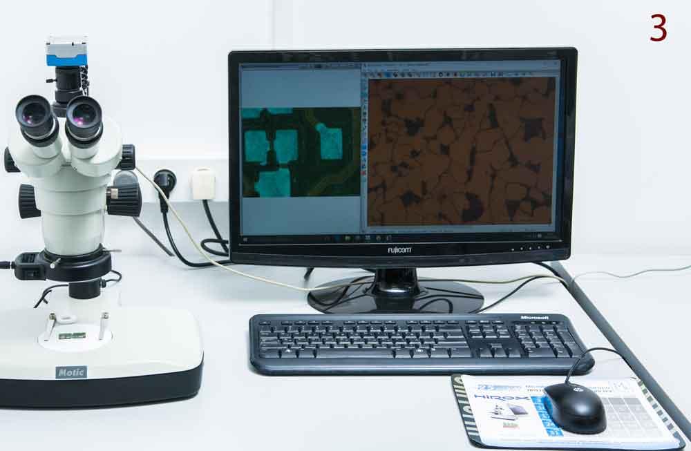 סטריאו מיקרוסקופ דיגיטלי