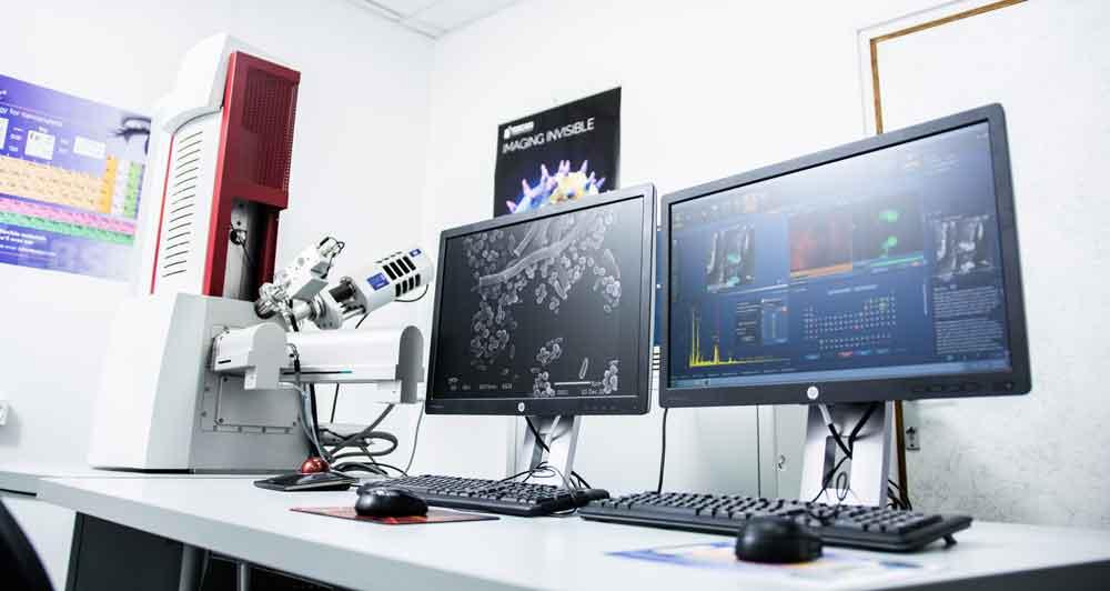מיקרוסקופ אלקטרוני