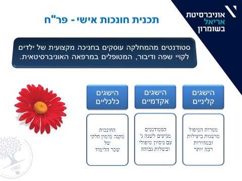 שקופית - פרויקט חונכות אישי פרח למטופלים