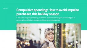 How to avoid impulse purchases this holiday season